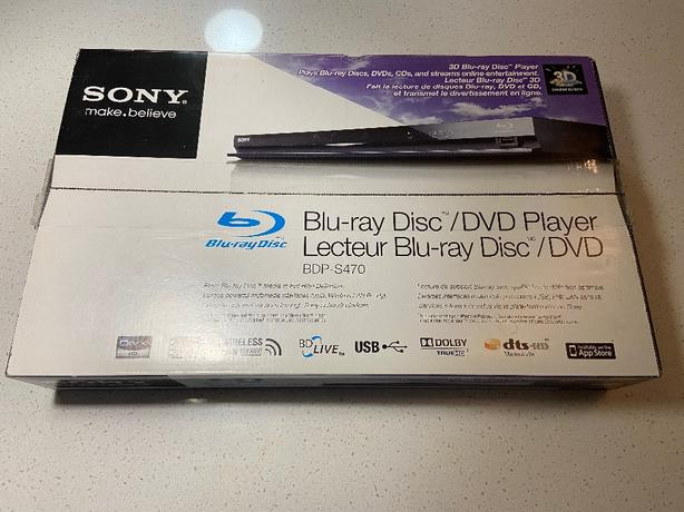 Sony Blue-Ray DVD player Brand new in box