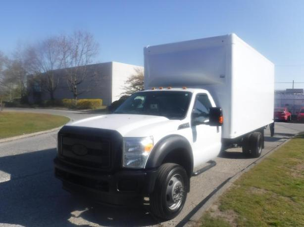 2015 Ford F-550 Regular Cab 17 Foot Cube Van with Power Tailgate Dually 2WD