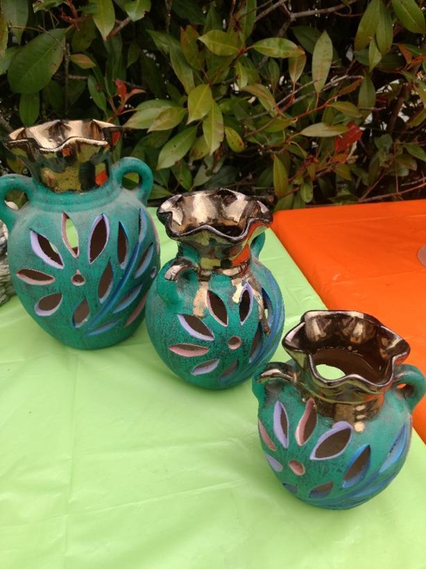 Ceramic vases (3 sizes SML)