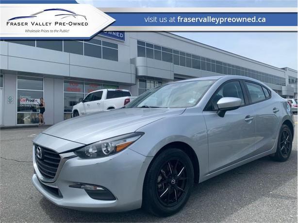 2017 Mazda Mazda3 GX  - $130 B/W - Low Mileage