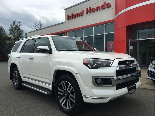 2018 Toyota 4Runner Leather - One Owner - Accident Free