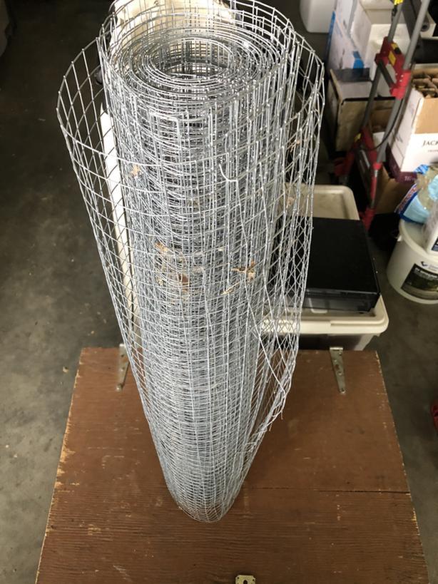 Roll of garden wire