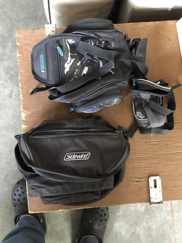 ATV/Bike/snowmobile bags