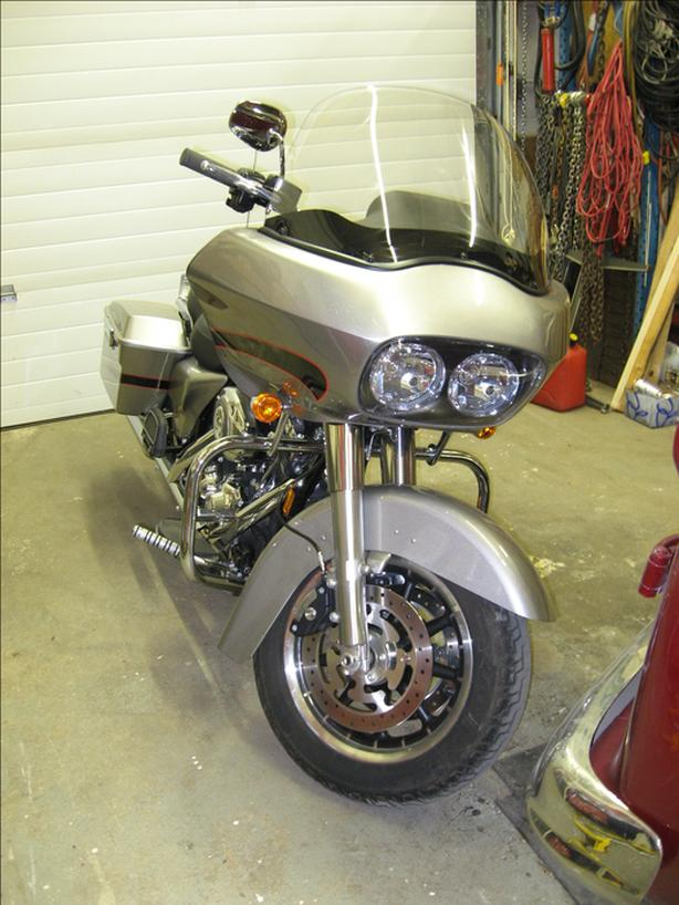 2008 Harley Davidson Road Glide 10,000 km10