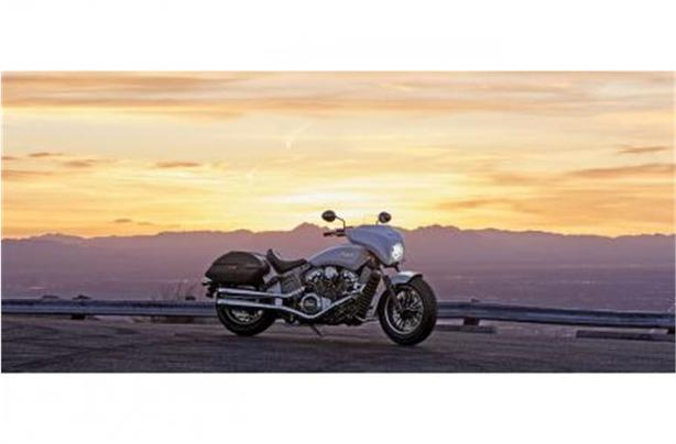 2020 Indian Motorcycle Indian® Scout® ABS - Icon - Ruby Metallic/Pearl White