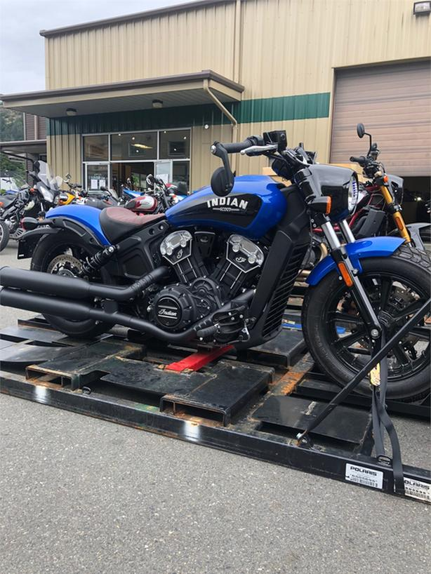 2020 Indian Motorcycle Indian® Scout® Bobber ABS - Icon - Radar Blue