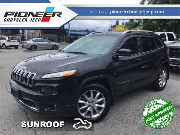 2014 Jeep Cherokee LIMITED  - Leather Seats -  Bluetooth