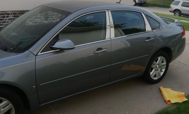 06-13 Chevrolet Impala 6 Piece Chrome Pillar Package