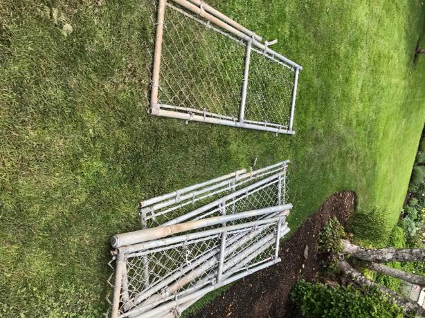 Chainlink panels,doors, poles