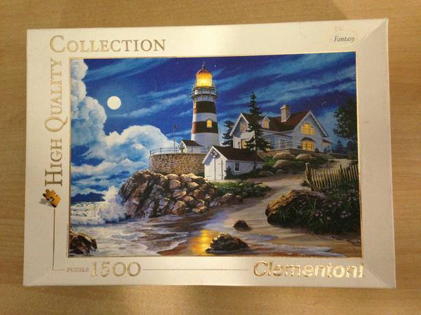 Jigsaw Puzzle 1500 pc Clementoni Moonlit Lighthouse