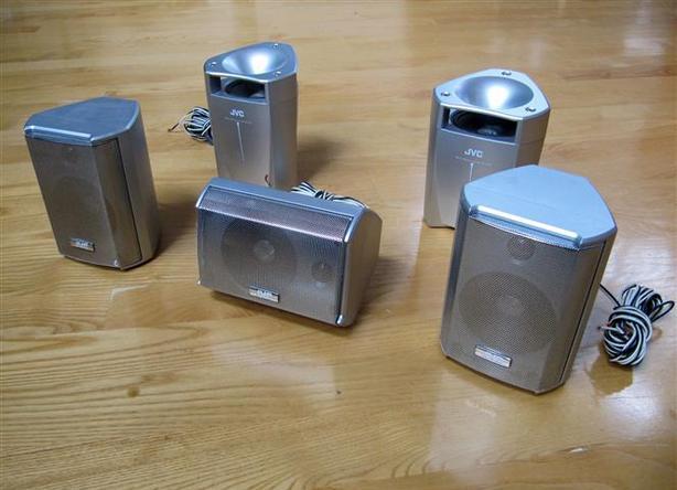 Surround Sound Speaker Package ~ JVC