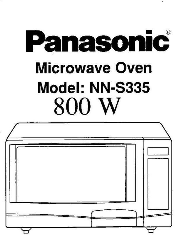 Panasonic Microwave countertop