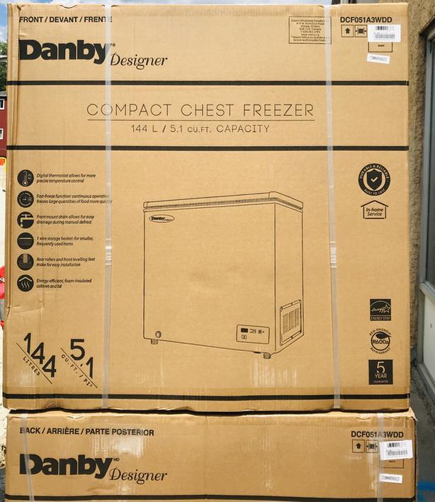 New Danby Chest Freezer