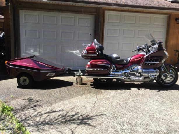 Goldwing 1800 and Cargo Trailer