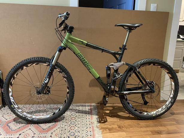 2011 BMC Trailfox TF01 - Full Suspension Mountain Bike