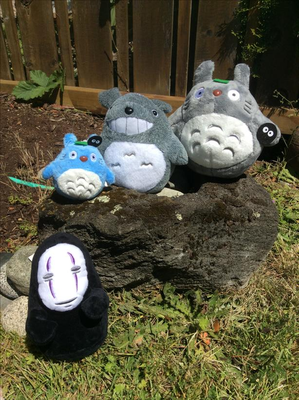 New Totoro, No-Face Plush Stuffed Animal