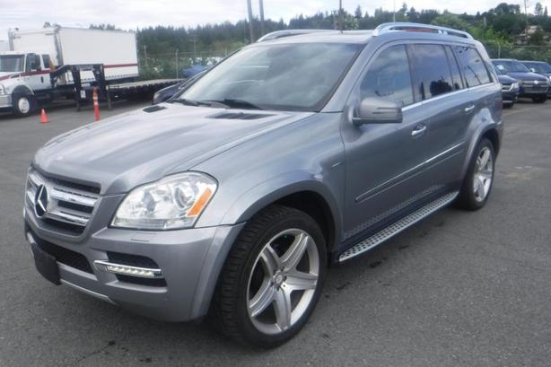 2012 Mercedes-Benz GL-Class GL350 BlueTEC 3rd row Seating