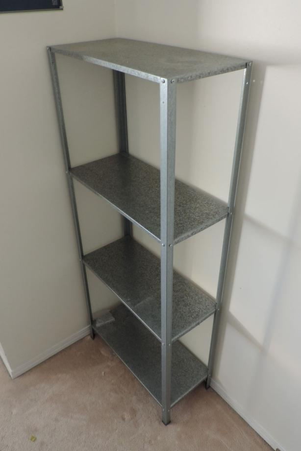 Galvanised steel shelving (2nd set)