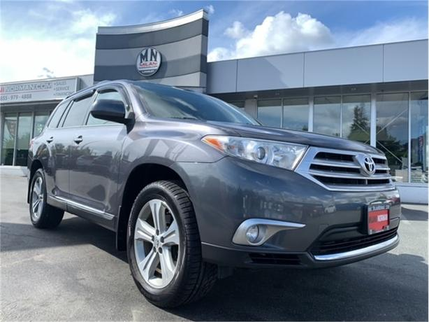 2012 Toyota Highlander V6 Limited 4WD 7-PASSANGER SUNROOF CAMERA 126KM