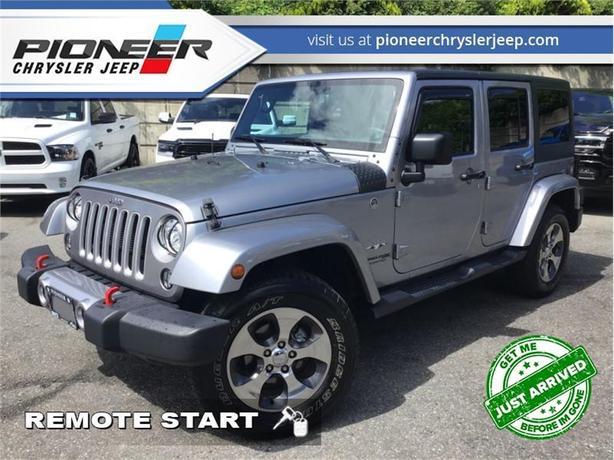 2018 Jeep Wrangler Unlimited Base  - Navigation