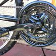 Full Suspension Disk brakes with Free Lock