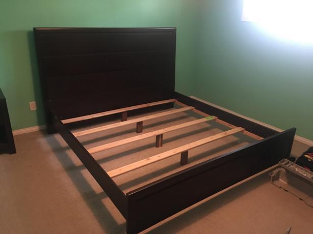King 5piece bedroom set