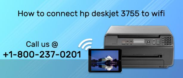 How to Connect hp deskjet 3755 to wifi setup guidelines