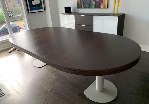 Ligne Roset Craft Dining Table (sells new $5k+)
