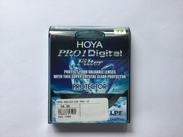 Used Hoya 72mm Protector Lens Filter