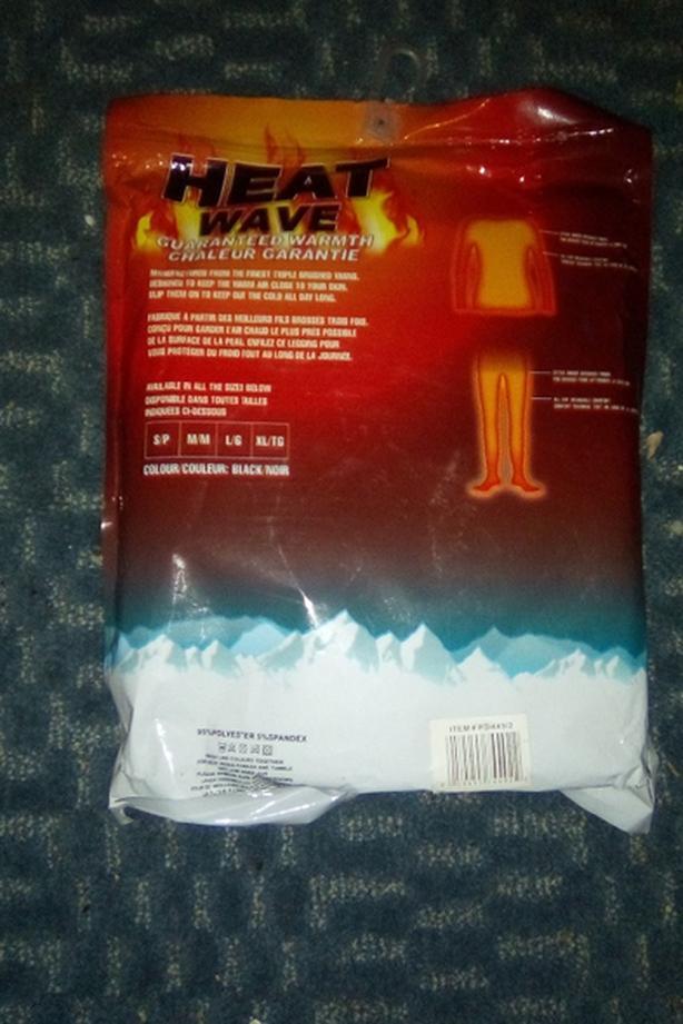 Heat wave pants and shirt
