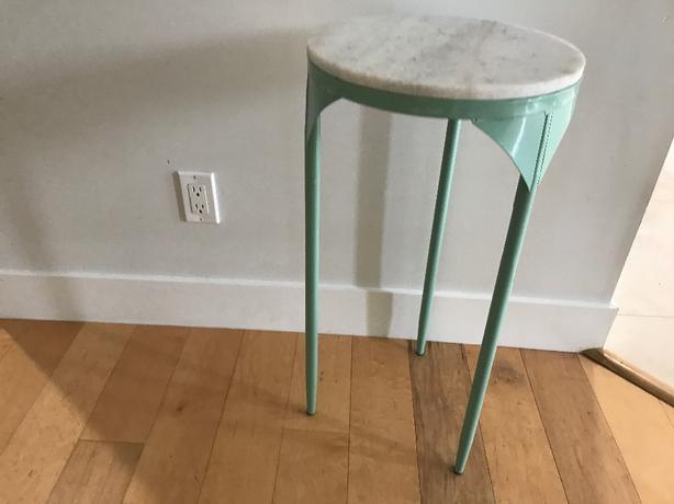 tall table or plant stand