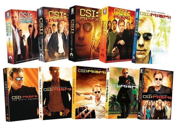 CSI Miami seasons 1-7