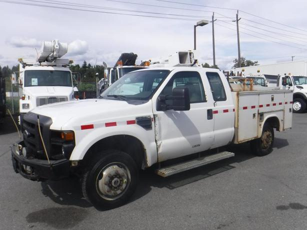 2009 Ford F-350 SD SuperCab Service Truck 4WD