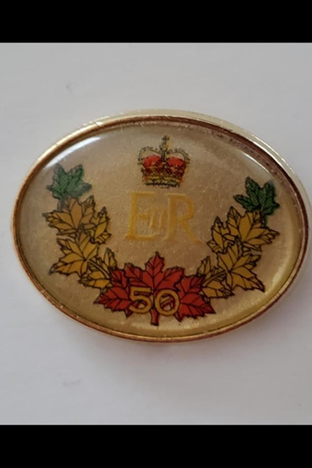 Vintage 2002 Collectible Golden Jubilee Souvenir Pin