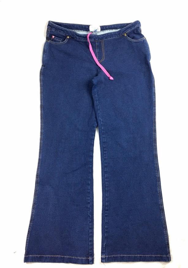 Ladies Original Stretch Pajama Jeans Size Medium Boot Cut