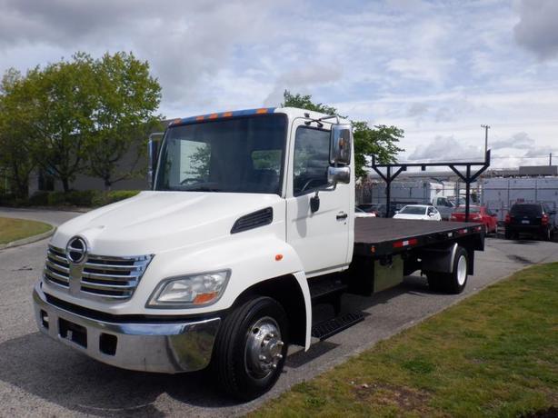 2009 Hino 258 Flat Deck 16.5 foot Diesel