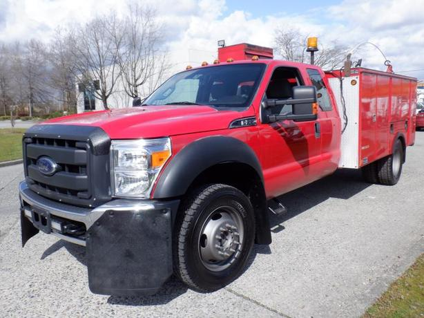 2012 Ford F-550 Service Truck SuperCab Dually Diesel 4WD