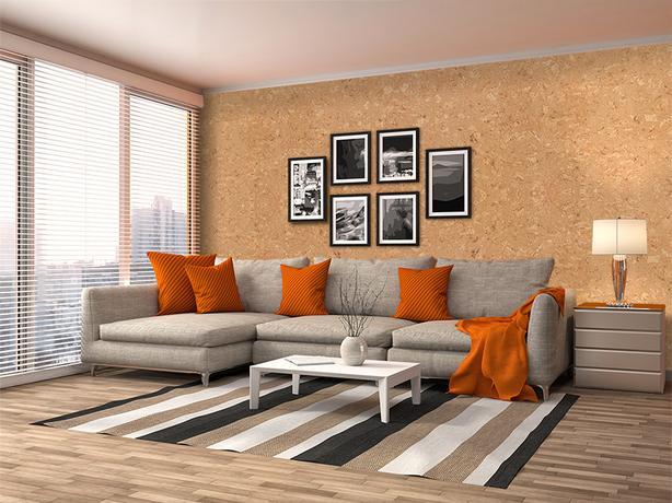 Salami (6mm) Cork Wall Tiles -CAD 3.19 / sq. ft.