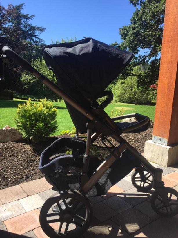 2014 Uppa Baby Vista Stroller with Rumble Seat