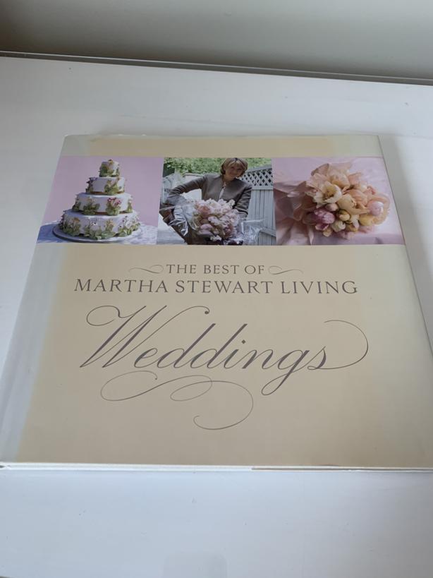 The Best of Martha Stewart Living Weddings Coffee Table Book