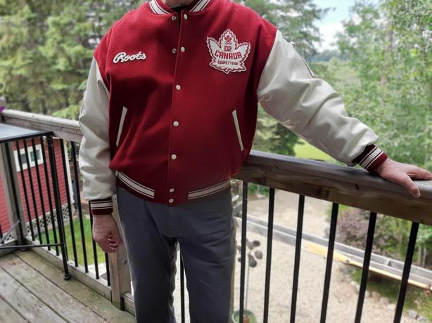 2002 Winter Olympics ROOTS Canada Hockey Jacket