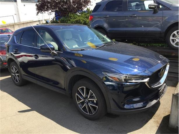 2017 Mazda CX-5 GT | LEATHER! NAVIGATION! ONE OWNER!