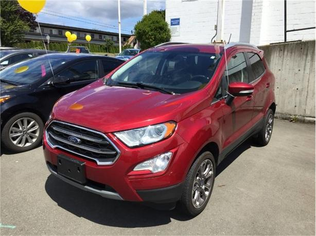 2018 Ford EcoSport Titanium   FULLY LOADED! MOON ROOF! NO ACCIDENTS!