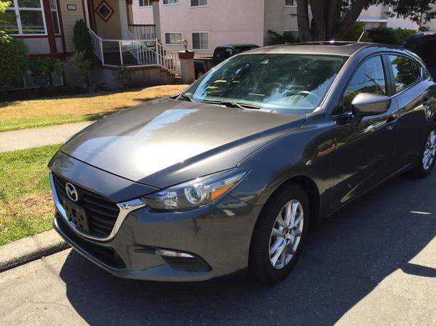 2017 Grey Mazda 3 For Sale