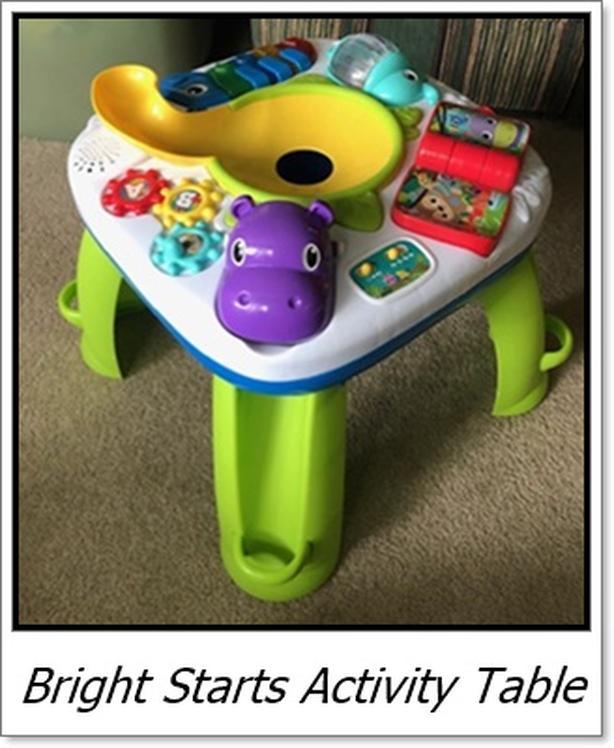 Bright Starts Activity Table $20