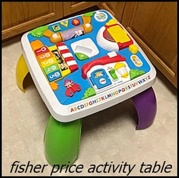 Fisher Price Activity Table $22