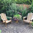 Adirondack Style Patio Chairs
