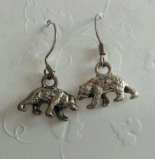 Little Bear Earrings