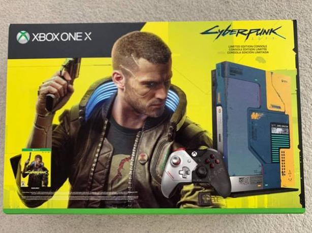 Cyberpunk 2077 Limited Collector's Edition Xbox One 1TB Console Bundle