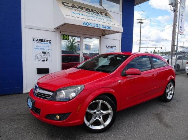 2008 Saturn Astra XR, 2 Door HB, Heated Leather Seats, Low Kms!